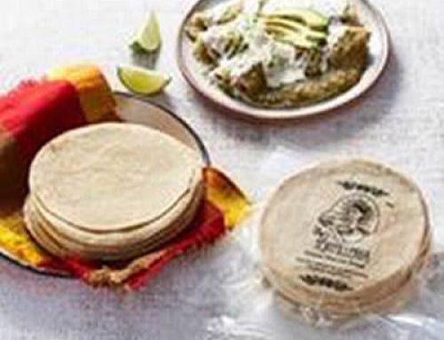 Nixtamal Tortilla 16 cm 1kg La Tortilleria (approx 37 tortillas)