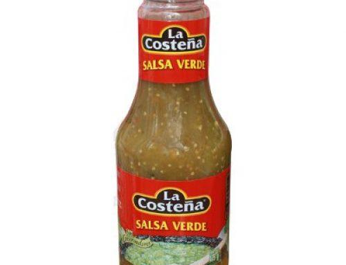 La Costena Green Tomatillo Salsa 475g