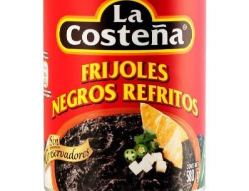 Canned Refried Black Beans 400g