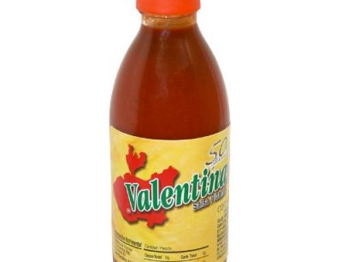 Valentina Hot Sauce 370ml YELLOW LABEL