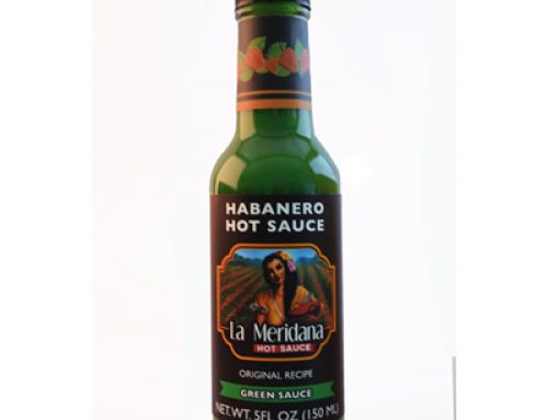 Green Habanero Sauce 150ml La Meridana