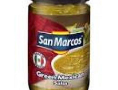 Green Tomatillo Salsa San Marcos 230g