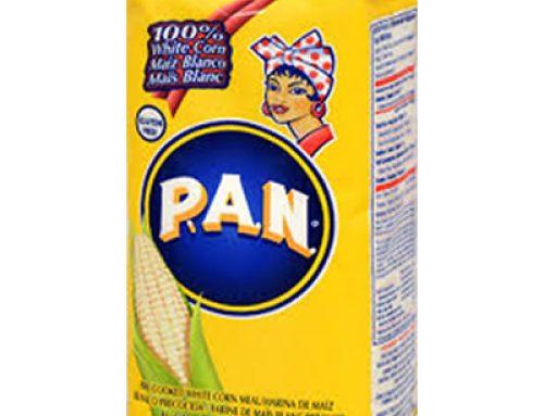 Arepa flour 1 kg PAN (precooked white corn flour) 1kg or box of 10