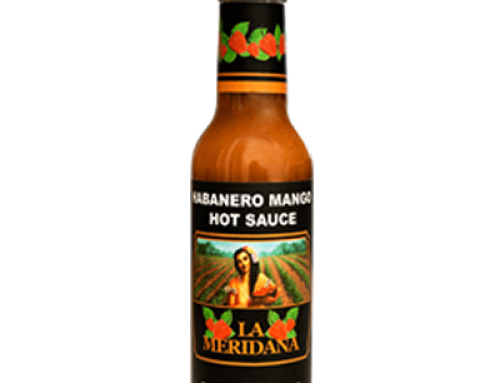 Mango Habanero Sauce 150ml La Meridana