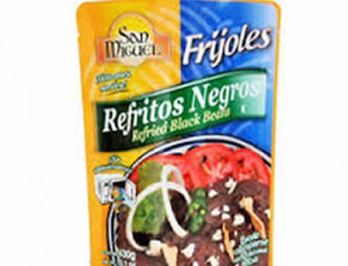 Vegan Refried Black Beans 400g Plastic pouch