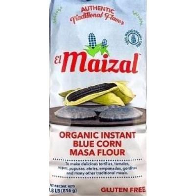 organic Blue flour El Maizal 1kg